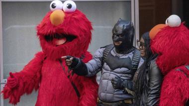 Los superhéroes y personajes que causan revuelo en Times Square