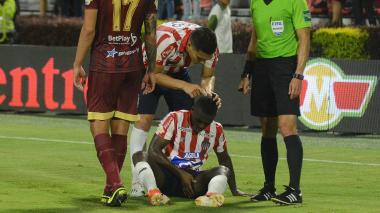 """""""El partido fue una locura total"""", dijo Edwuin Cetré"""