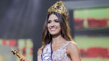 Gabriela Tafur le dio al Valle el título del departamento con más coronas nacionales.  La soberana ha generado gran expectativa en Miss Universo.