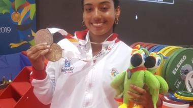 Mailyng Echeverría triunfa en Cartagena y le regala el séptimo oro al Atlántico