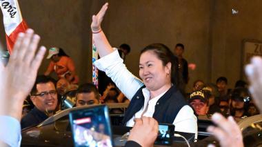 """Keiko Fujimori agradece en Twitter """"nueva oportunidad"""" tras salir de prisión"""