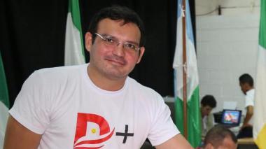 Dagoberto Barraza, secretario de Educación Departamental.