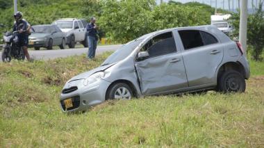Un 36% de accidentes  ocurridos en 2018 en Barranquilla estuvo relacionado con vehículos livianos.
