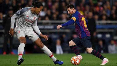 Messi, favorito en la lucha por el 'Balón' de Oro ante Van Dijk