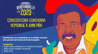 Abren inscripciones de grupos, faroles y disfraces para Guacherna 2020