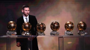 El de oro, el balón preferido de Messi