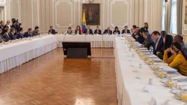 Gobierno mantiene reunión con el Comité del Paro