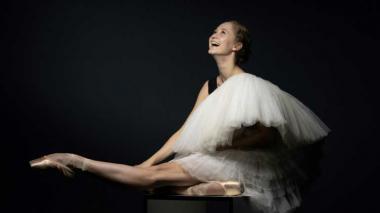Bianca Scudamore, bailarina australiana en la Escuela de Ópera.