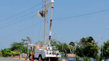 Barrio Paraíso y tres circuitos de Puerto Colombia estarán sin luz este jueves