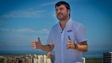 Jaime Pumarejo Heins, alcalde electo de Barranquilla.