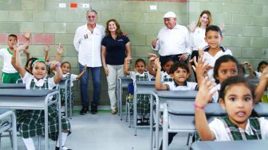 Dos nuevos 'Colegios 10', inaugurados el pasado fin de semana