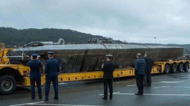 Submarino interceptado en España con 3 toneladas de cocaína en noviembre de este año.