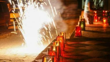Mal comienzo de fiestas: 5 quemados en Barranquilla