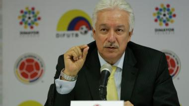 Jorge Perdomo, ex presidente de la Dimayor.