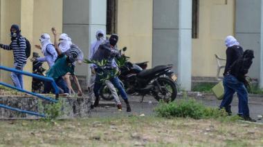 Periodista denuncia que fue agredido por estudiantes de Uniatlántico