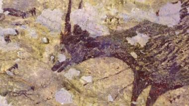 En video | Hallan la obra de arte figurativo más antigua del mundo en una cueva de Indonesia