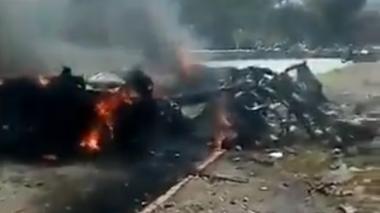 En video | Ataque con explosivos en Cubará, Boyacá, deja tres soldados heridos
