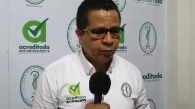 """En video   """"La universidad no puede convertirse en escenario de violencia"""": rector de la Unicor"""
