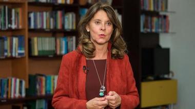 "Vicepresidenta  denuncia que ""red internacional"" alimenta ""malestar social"" interno"