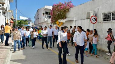 Pavimentación y parque, las nuevas obras de Baranoa