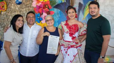 María José Arroyo Cantillo ya tiene el decreto que da inicio al Carnaval de Puerto Colombia