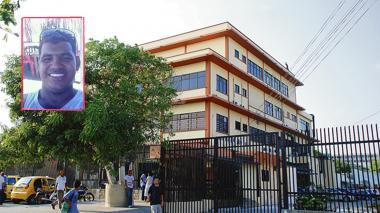 Hasta las instalaciones de Medicina Legal fue llevado el cuero de Jhon Villalobos Reyes, alias Ratón (recuadro).