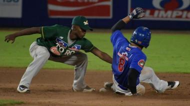 Acción de un juego entre Caimanes y Toros.