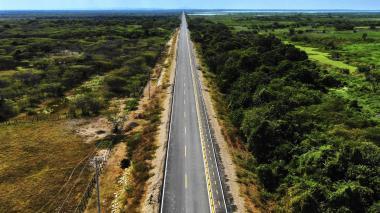 Listos 8,3 kilómetros del Corredor Oriental de El Guájaro: Gobernación