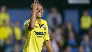 Carlos Bacca, jugador del Villarreal de España.