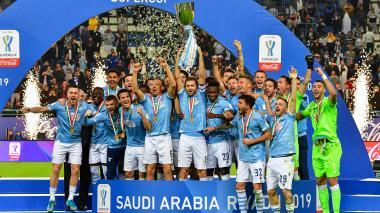 Lazio sorprende a Juventus y se lleva la Supercopa de Italia