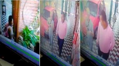 En video | Bajo engaño, hombre roba al padre Cirilo en el  barrio La Paz
