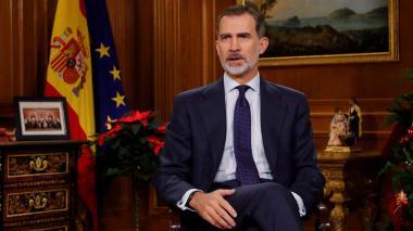 El rey de España pide unidad ante la crisis catalana