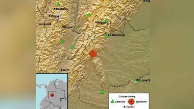 Nuevo sismo en el Meta: movimiento telúrico fue de 4,8 grados esta vez