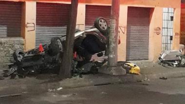 En video | Tres personas muertas y tres heridas dejó accidente de tránsito en Murillo