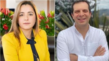 Lady Johanna Ospina y Alejandro Quintero.