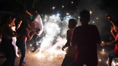 Córdoba suma 14 lesionados y dos casas quemadas por el uso de pólvora