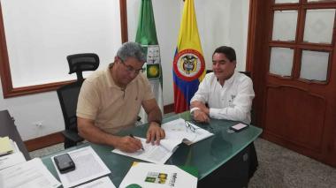 Firman convenio para pavimentación de la vía entre Uribia y Puerto Bolívar en la Alta Guajira