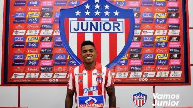 Junior hace oficial la contratación de Fabián Viáfara