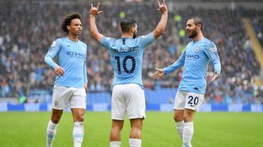 El City y el Leicester clasifican en FA Cup