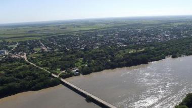 Vista panorámica del Maní, municipio de Casanare.