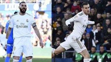 Benzema y Bale no disputarán la Supercopa de España por lesión
