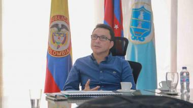 Gobernador Caicedo dice que apoyará el Tren Regional Caribe