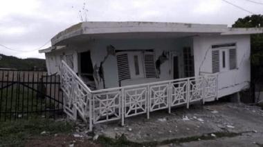 Temblor de 5,8 en Puerto Rico causa daños en estructuras