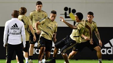 Valencia vs. Real Madrid: con James en la banca
