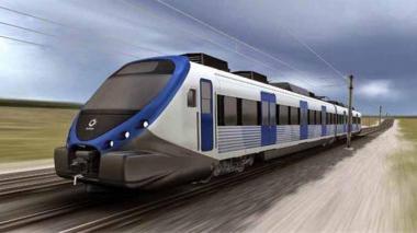 Así se vería el Tren Regional Caribe.