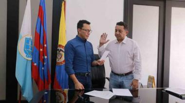 Designan a Jorge Cabas como alcalde (e) de San Zenón, Magdalena