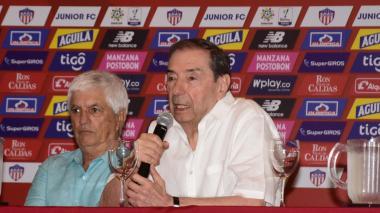 """En video   """"Exigimos al técnico y a los jugadores que le ganen al Flamengo"""": Fuad Char"""