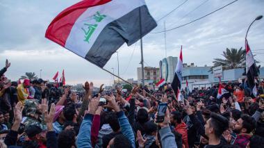 Miles de manifestantes salen de nuevo a la calle en Irak