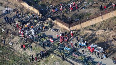 Irán niega que el avión ucraniano fuera derribado por un misil