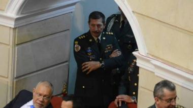 El excomandante del Ejército nacional, general Nicacio Martínez.